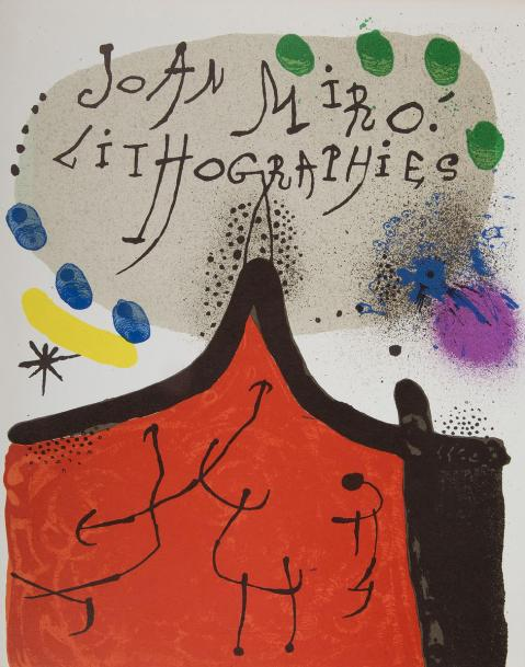 [MIRÓ (Joan)]. Joan Miró lithographe. Paris, 1972-1992. - 5 volumes in-4, 320 x…