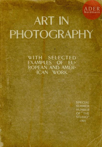 PICTORIALISME Deux volumes. Art in Photography with selected examples of european…