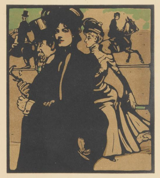 William Nicholson (1872-1949) 12 pl. pour London Types. Londres, W. Heinemann, 1898.…