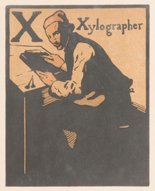 William Nicholson (1872-1949) An Alphabet. Londres, W. Heinemann, 1899. Réunion…