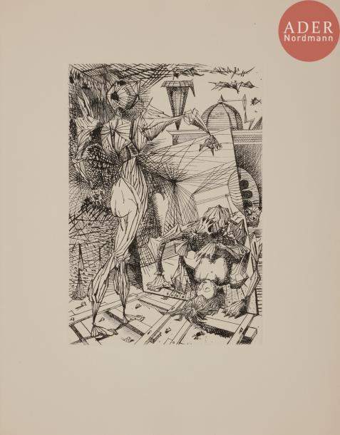 [COUTAUD (Lucien)] - LELY (Gilbert). Ma civilisation. Paris: Maeght, 1947. — In-4,…