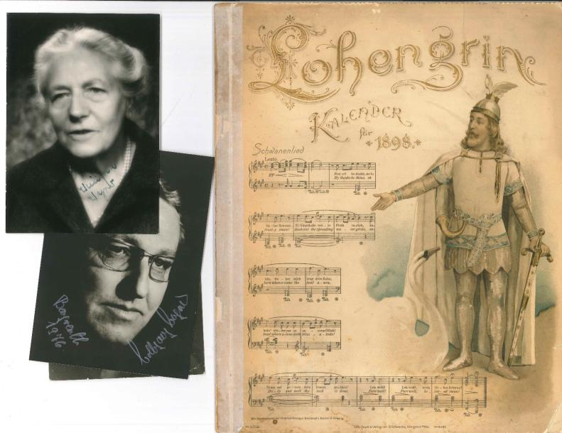 [Richard WAGNER] 9 documents Cosima Wagner (LS à A Dandelot, 1904) Hans von Bülow…