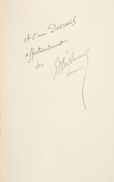 HUYSMANS (Joris-Karl). De tout. Paris : P.-V. Stock, 1902. — In-18, 193 x 124 :…