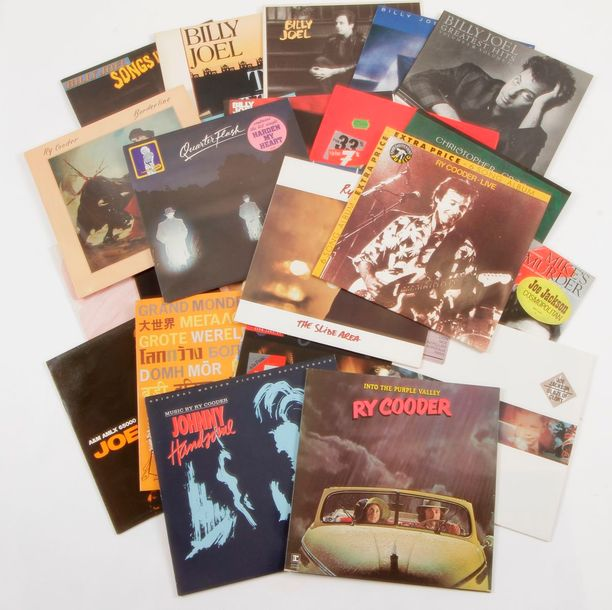 ARTISTES DIVERS dont : RY COODER / BILLY JOEL / CHISTOPHER CROSS / JOE JACKSON E…