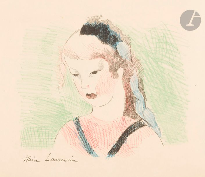 Marie Laurencin (1883-1956) Carroll (Lewis). Alice in Wonderland. Paris, The Black…