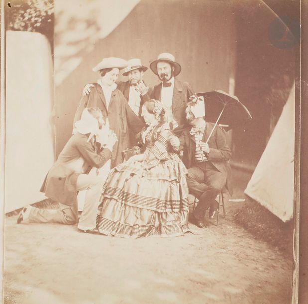 Photographe non identifié Famille Olry, c. 1855-1860. Famille Olry. Jacques Olry…