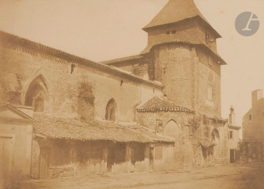Gustave le Gray (1820-1884) Mission héliographique, 1851. Église Saint-Vincent du…