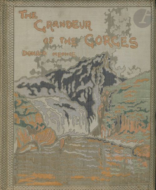MENNIE, DONALD (1899-1941) The Grandeur of the Gorges. Fifty Photographic Studies,…