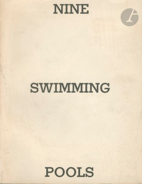 RUSCHA, EDWARD (1937) Nine Swimming Pools and a broken glass. Edward Ruscha, 1968.…