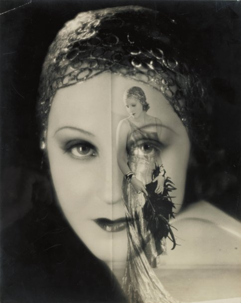 STUDIO LORELLE Composition photographique, surimpression, 1929. Tirage argentique…