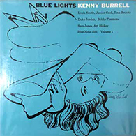 Enchères - Kenny BURRELL, Blue Lights. Blue Note 1596, E.O., Vol. 1, couverture d'Andy Wharol.