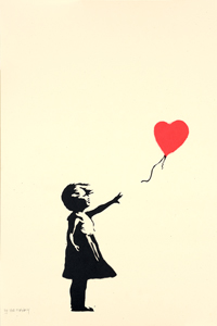 Exposition Drouot - BANKSY (né en 1975) Girl with Balloon - DIGARD AUCTION