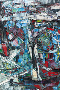 Jean-Paul RIOPELLE (1923-2002), Composition, 1964